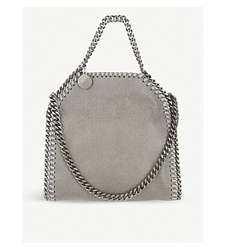 STELLA MCCARTNEY Tiny Falabella shoulder bag (Grey