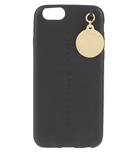 STELLA MCCARTNEY iPhone 6 logo charm case (Black