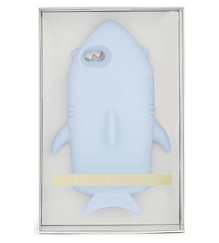 STELLA MCCARTNEY 鲨鱼 iPhone 案例 6/6 s (蓝 + 冰