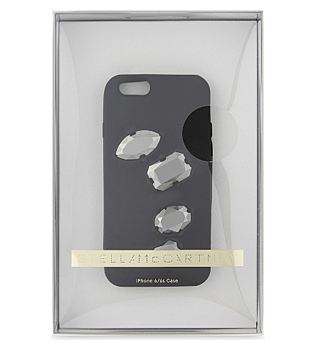 STELLA MCCARTNEY Rings silicone iPhone 6 case (Black