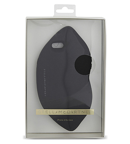 STELLA MCCARTNEY Lips iPhone 6 case (Black