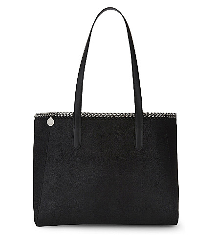 STELLA MCCARTNEY East West small tote (Black