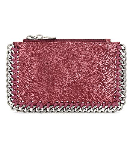 STELLA MCCARTNEY Falabella long card holder (Hot+pink
