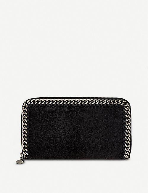 Womens Pouch On Sale, Black, Leather, 2017, one size Stella McCartney