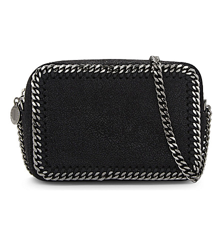 STELLA MCCARTNEY Falabella camera bag (Black