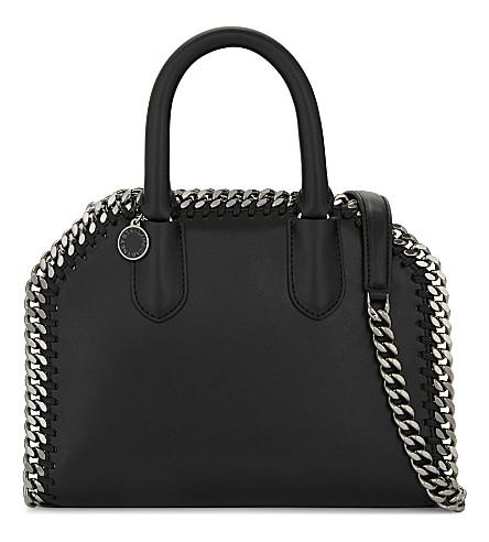 STELLA MCCARTNEY Box Doctor faux-leather shoulder bag (Black