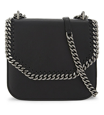 STELLA MCCARTNEY Falabella Box shoulder bag (Black