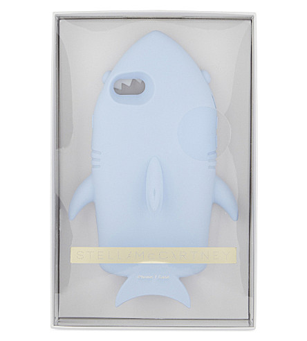 STELLA MCCARTNEY Shark iPhone 6/6s case (Bluebell