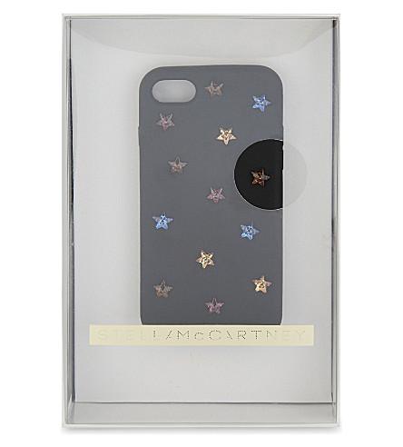 STELLA MCCARTNEY Stars iPhone 7 case (Black+multi