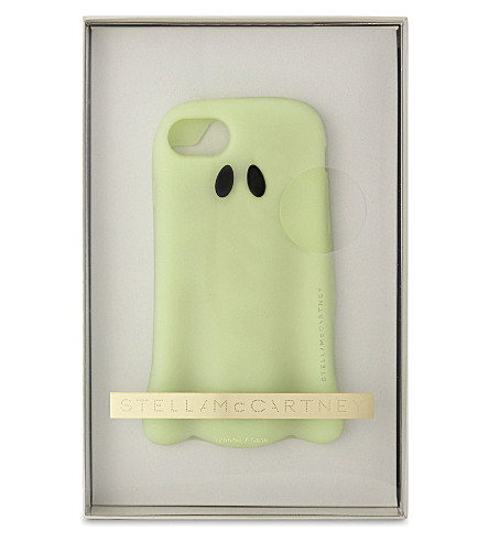 STELLA MCCARTNEY Luminous ghost iPhone 7 case (Green