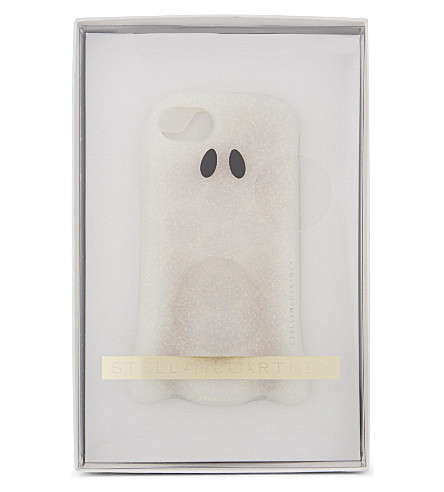 STELLA MCCARTNEY Ghost iPhone 7 case (White+sparkle
