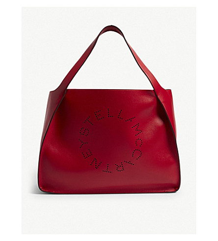 6d58392db8c1 STELLA MCCARTNEY - Perforated faux-leather tote