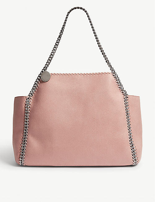 747890f4a289 STELLA MCCARTNEY Falabella reversible faux-suede tote