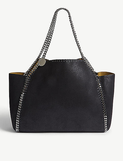 52a6943d876 STELLA MCCARTNEY Falabella faux-leather shoulder bag