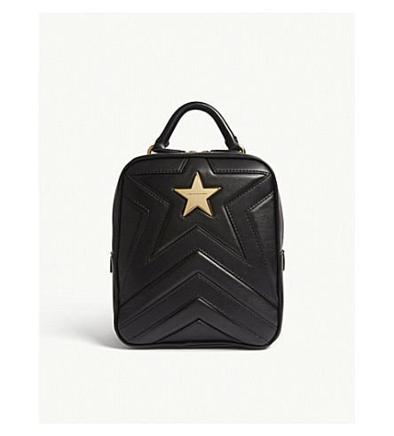 STELLA MCCARTNEY Small star backpack (Black