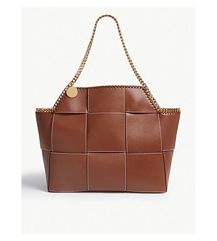 8663e5d500 STELLA MCCARTNEY - Falabella reversible patchwork tote bag ...