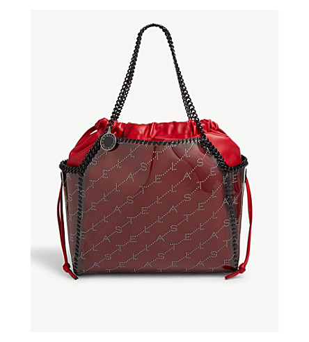 STELLA MCCARTNEY - Falabella perforated logo tote   Selfridges.com 4b08aa0d30