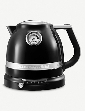 KITCHENAID Onyx black artisan kettle