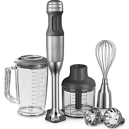 KITCHEN AID Artisan five-speed hand blender stainless steel