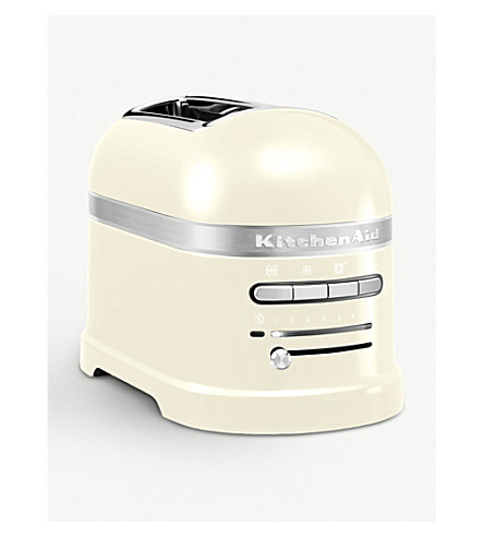 KITCHENAID Artisan two-slot toaster almond cream (Almond+cream