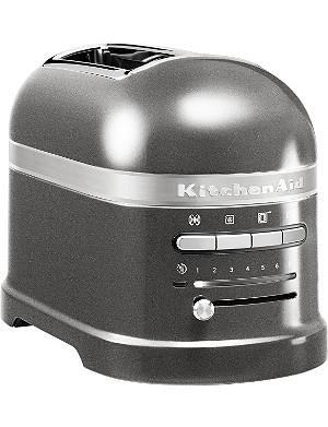 KITCHENAID Artisan two-slot toaster medallion silver