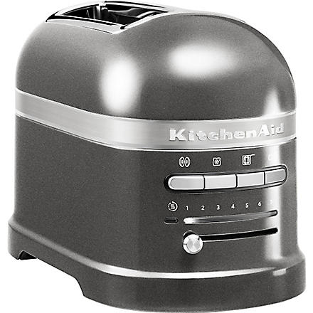 KITCHEN AID Artisan two-slot toaster medallion silver