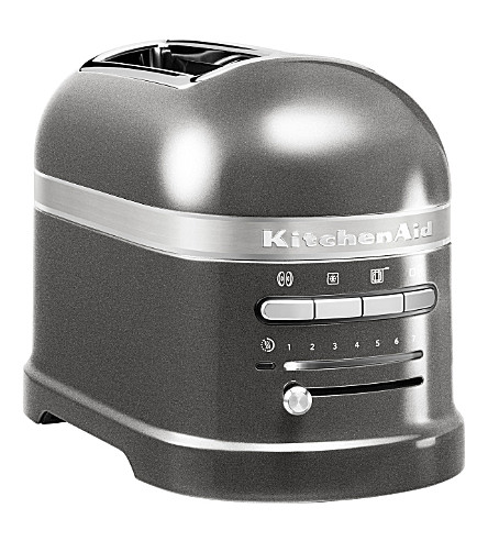 KITCHENAID Artisan two-slot toaster medallion silver