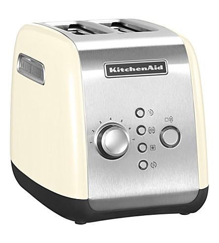 KITCHENAID Two-slot toaster (Almond+cream