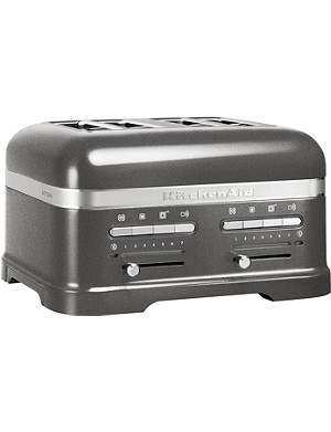 KITCHENAID Artisan four-slot toaster medallion silver