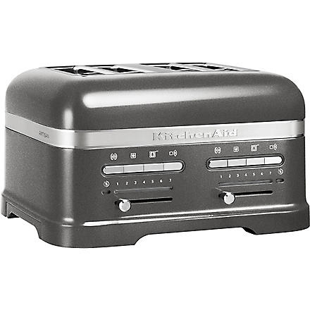 KITCHEN AID Artisan four-slot toaster medallion silver
