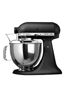 KITCHEN AID Artisan mixer cast iron black