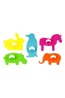 PRESENT TIME Animal coat hooks