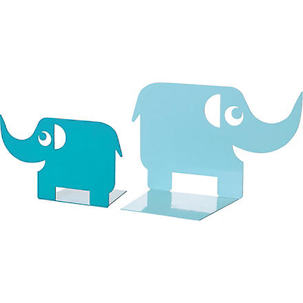 PRESENT TIME Ellie the Elephant set of two bookends