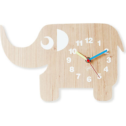 PRESENT TIME Elephant wall clock