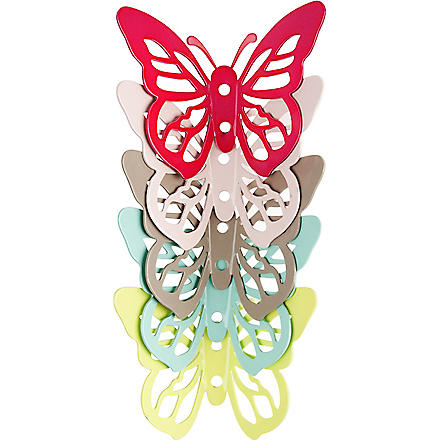 PRESENT TIME Butterfly metal hook