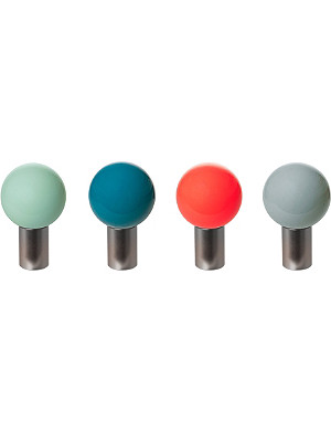 PRESENT TIME Set of four Trend Ball hooks