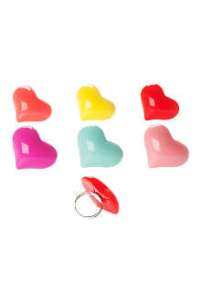 PRESENT TIME Bold resin heart ring