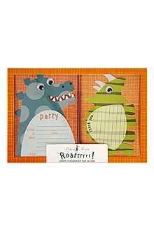 MERI MERI Roarrrr! Dinosaur invitations and thank you notes