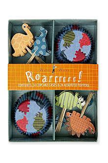 MERI MERI Roarrrr! Dinosaur cupcake kit