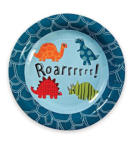 MERI MERI Roarrrr! Dinosaur plates