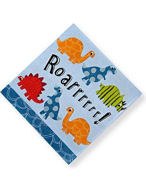 MERI MERI Roarrrr! Dinosaur napkins