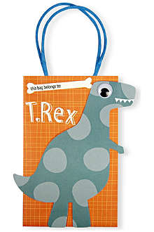 MERI MERI Pack of eight Roarrrr! Dinosaur party bags