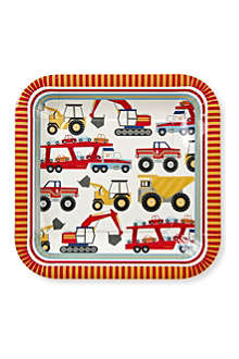 MERI MERI Big Rig large square plates