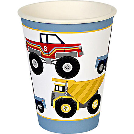 MERI MERI Big Rig party cups