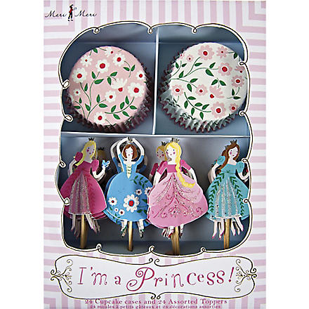 MERI MERI I'm a Princess cupcake kit