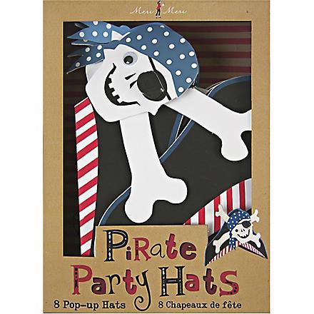 MERI MERI Ahoy There pirate party hats