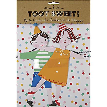 MERI MERI Toot Sweet Children's party garland