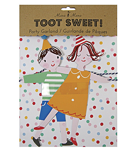 MERI MERI Toot Sweet Children's party garland