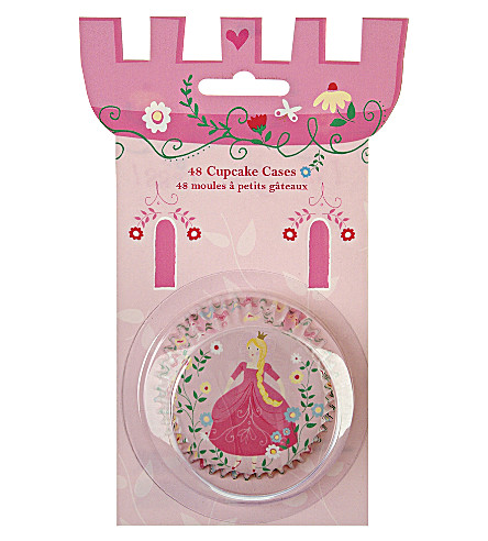 MERI MERI Pack of 48 I'm a Princess cupcake cases