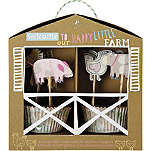 MERI MERI Happy Little Farm cupcake kit